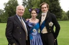 Julian with Emily Blunt and Rupert Friend, stars of The Young Victoria
