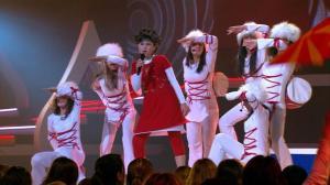 Mariam representing Georgia at the Junior Eurovision Song Contest