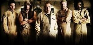 Dominic Cooper, Joseph Fiennes, Brian Cox, Liam Cunningham, & Seu Jorge in The Escapist