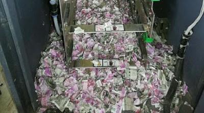 Rata Muere al Devorar 18,000 Dólares De Cajero Automático
