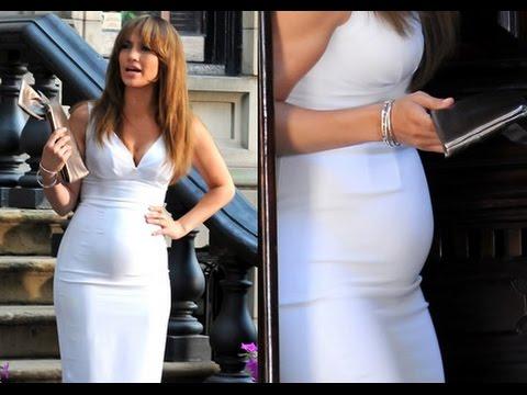 Jennifer Lopez Embarazada de Alex Rodriguez (Video)