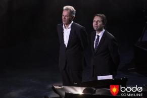 Hoff with Andsnes at Stormen (The Storm) opening 2014