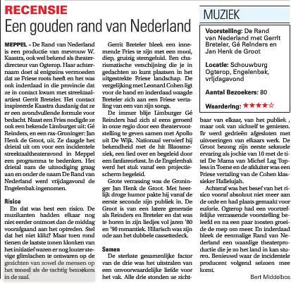 rand van nederland recensie