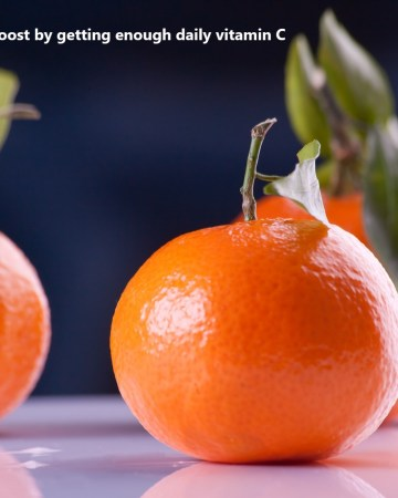 tangerines are rich in vitamin C