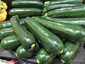 Zucchini are the perfect vegetable for summer salad days
