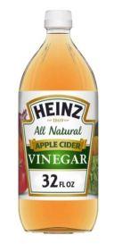 bottle of heinz apple cider vinegar