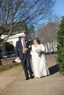 Brides processional with dad