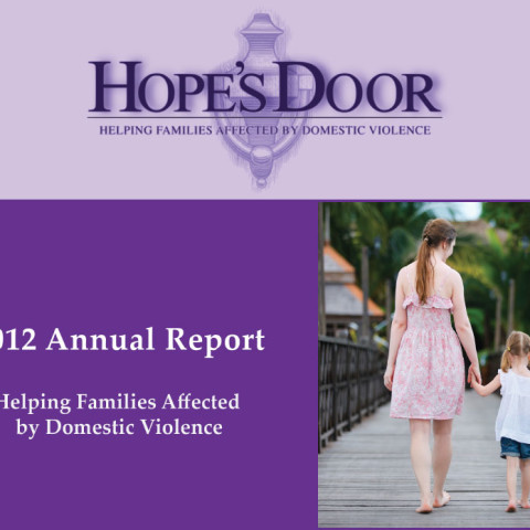 Hope's Door - Annual Report