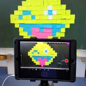 Medienpädagogik: Trickfilm mit Post-its