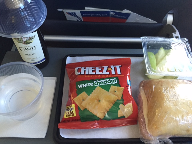 National Airlines Newfoundland Lunch
