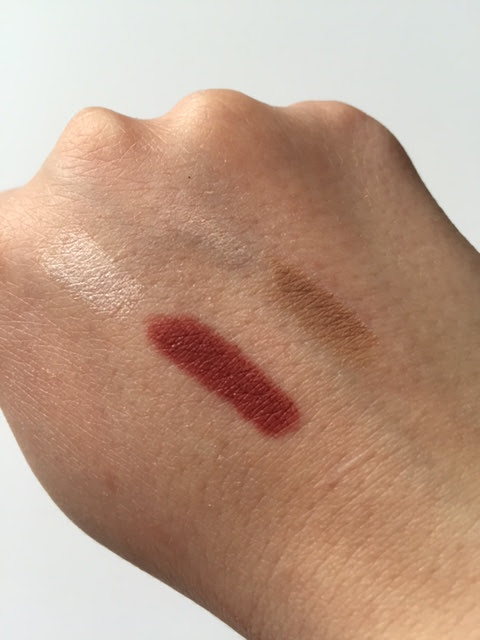 Make Up For Ever Pro Sculpting Lip and Brow Swatches