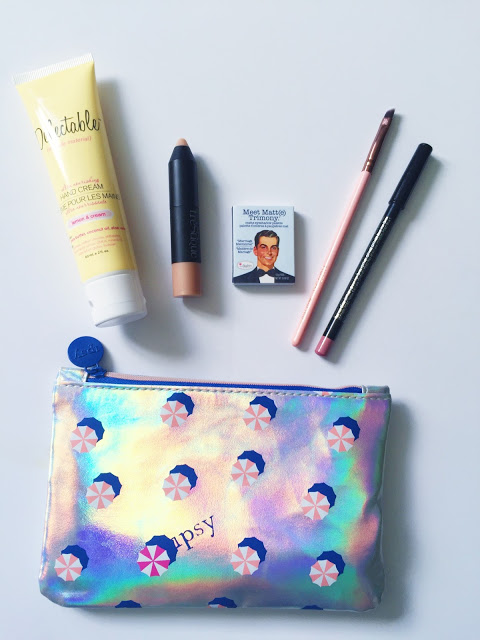 July 2016 Ipsy Review