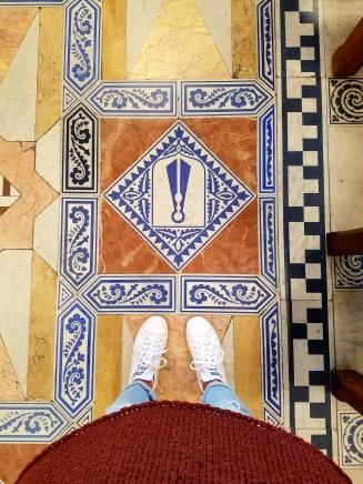 Look at the beautiful floor!