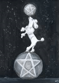 Two Pentacles copyright Erin Morgenstern Phantomwise Tarot
