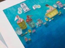 Bucket Bath A1 Print