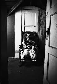 clown in chair