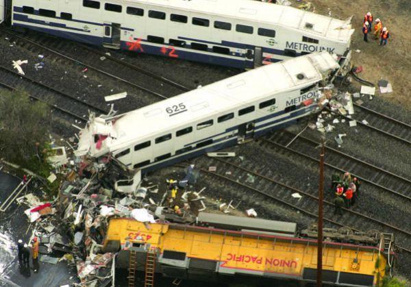# 8. MetroLink Crash - $500 Million