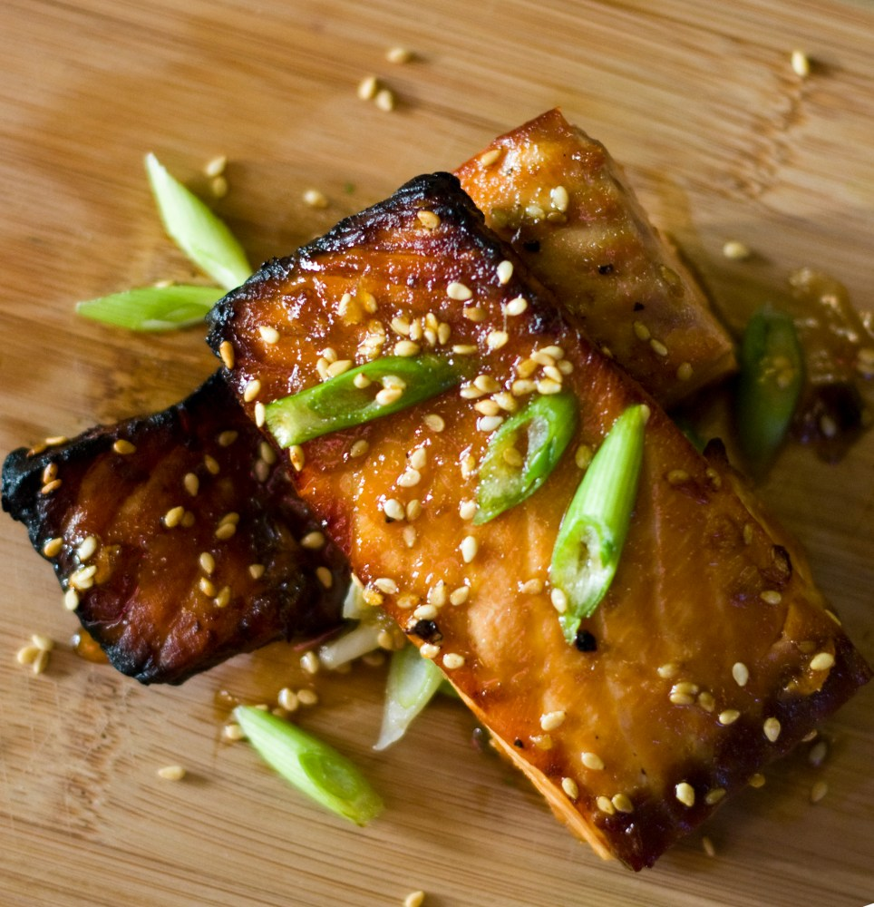 Broiled Asian Salmon and Pinterest (1/2)