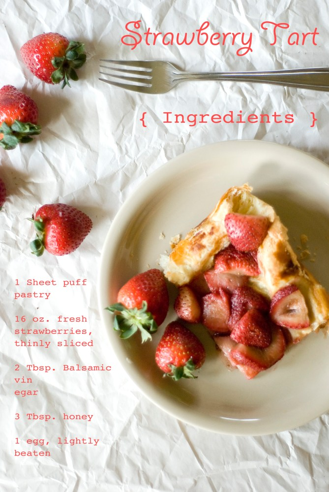 Strawberry Tart and Mother's Day (2/5)