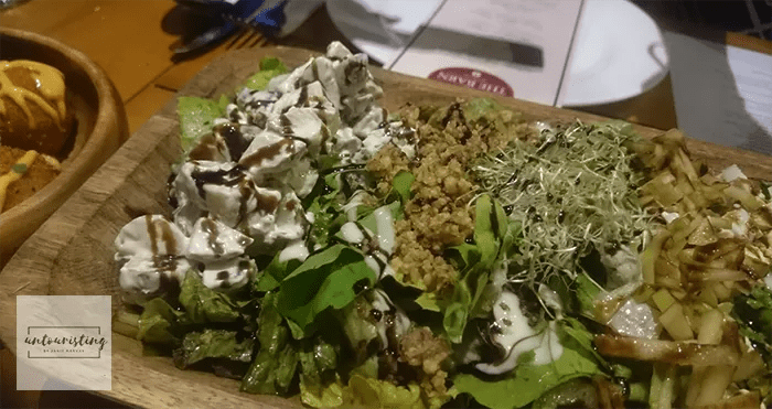 the barn salad
