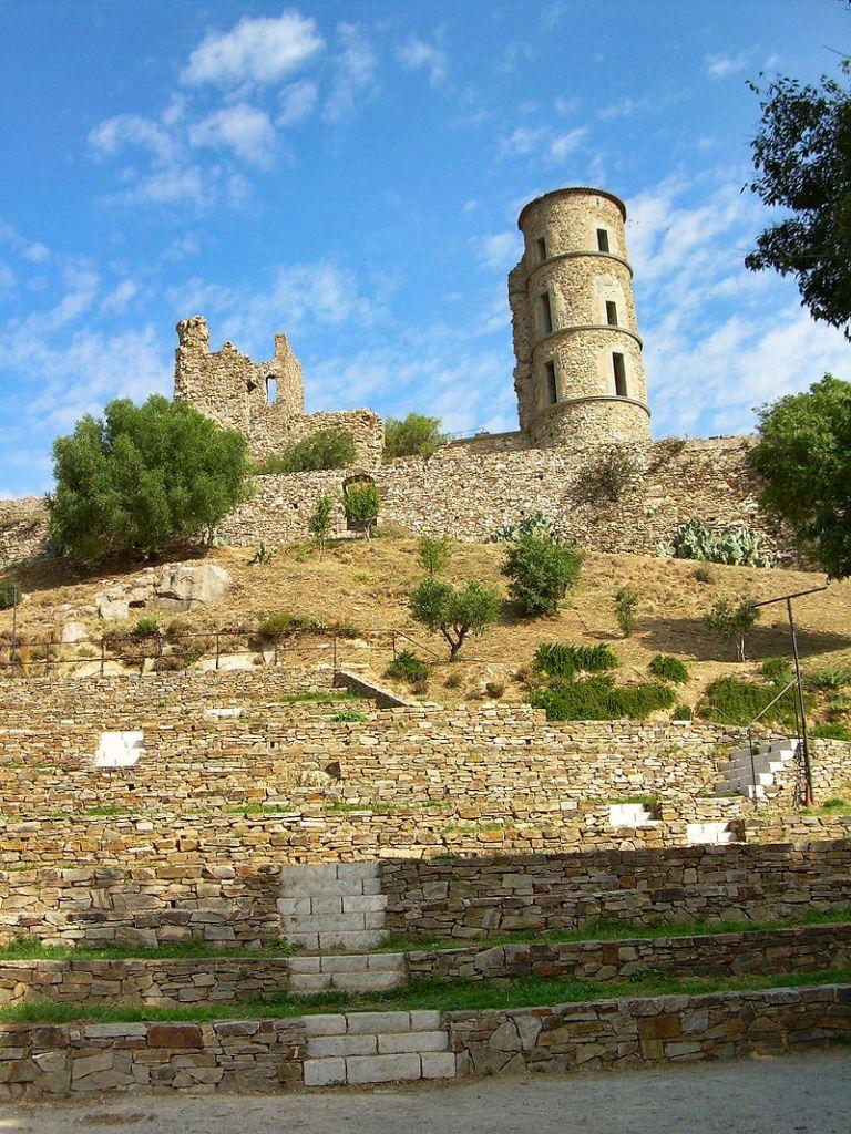 Burganlage von Grimaud