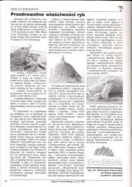 """Artykuł """"Prozdrowotne właściwości ryb."""" dla Magazynu Przemysłu Rybnego"""