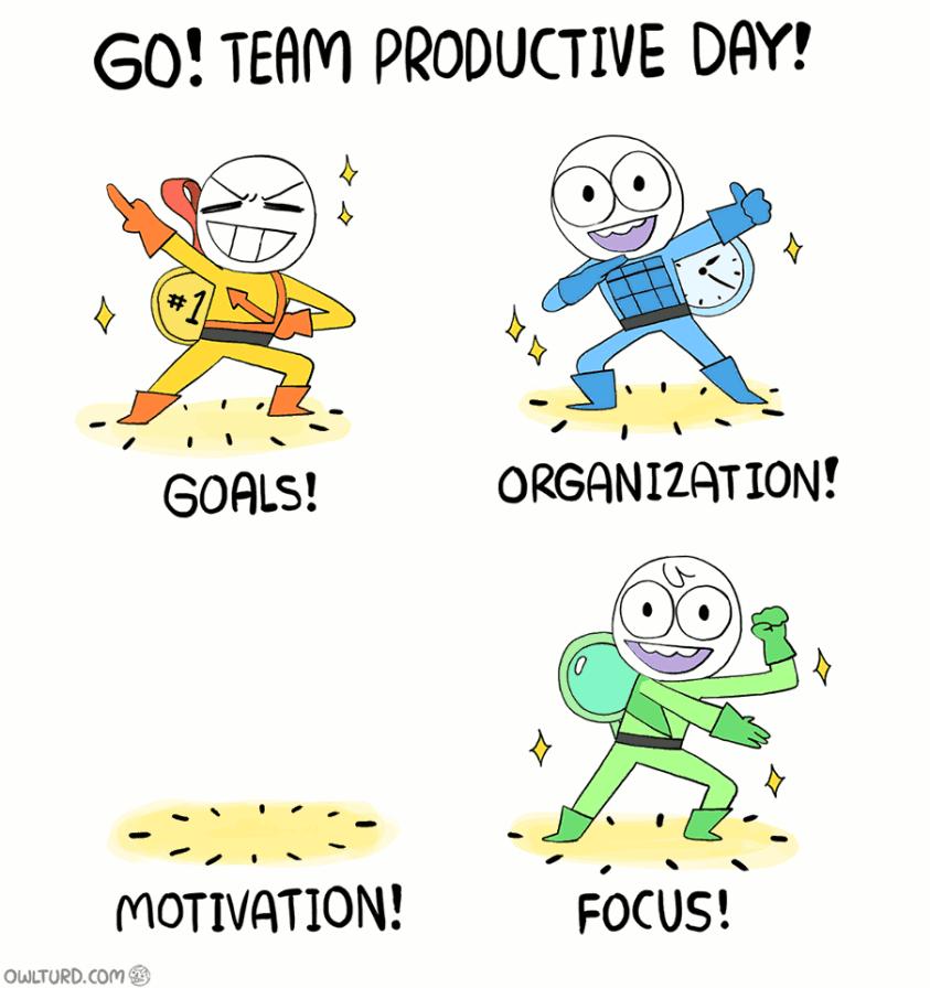 Motivation - Owlturd Comix