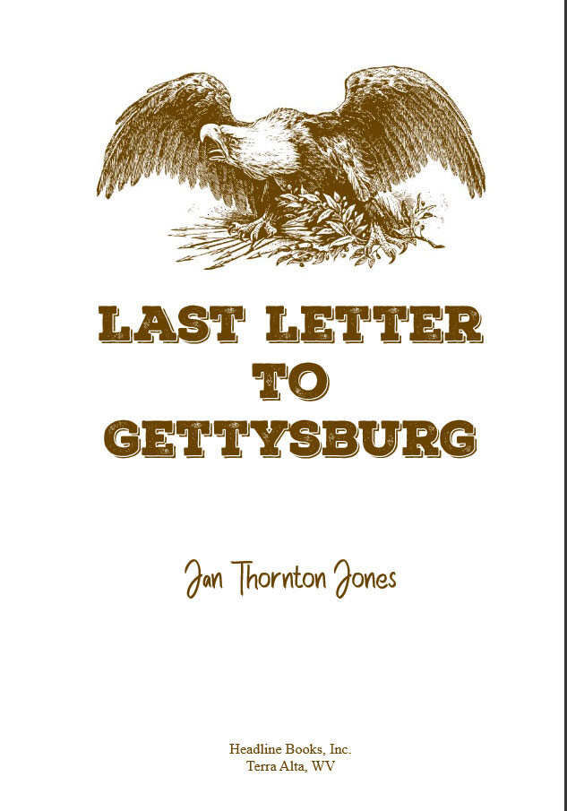 Last Letter to Gettysburg - Title Page