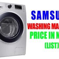 All Samsung Washing Machines Price in Nepal (Latest Price)