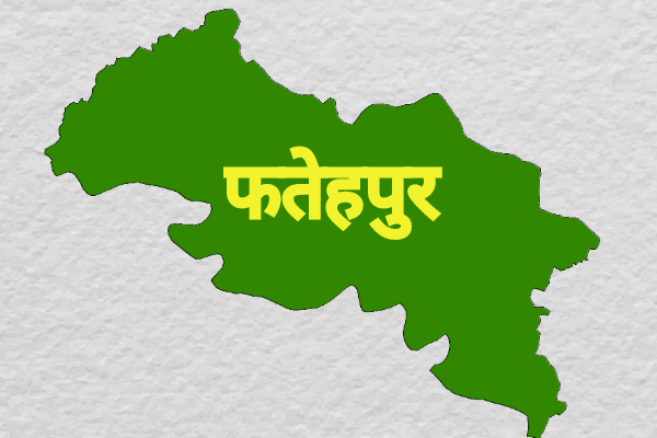 फतेहपुर जिला का नक्शा