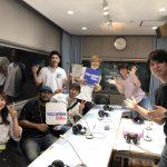 Permanent Fishのラジオ番組に大石組で出演しました