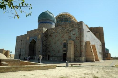 W XIV wieku sylwetka mauzoleum była tak innowacyjna, że posłużyła jako wzór do budowy meczetów w Samarkandzie.