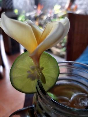 Nicnierobienie to też pierwsza chwila małego luksusu w naszym pobycie w Indonezji.