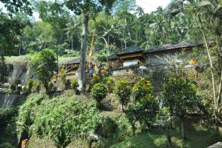 Przyjeżdżamy do pury Gunung Kavi.