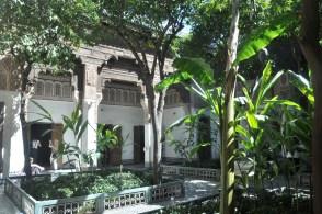 Pałac i ogrody Bahia. XIX w, największy w tamtych czasach pałac - chyba nie tylko w Maroko.
