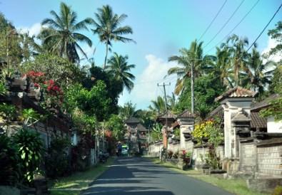 Każda wioska ma przynajmniej trzy swoje świątynie, a jeszcze sporo jest domowych świątynek.