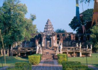 Khorat - Prasat Hin Phimai - świątynia khmerska, sieć takich świątyń sięgała od Kambodży przez Tajlandię po Laos.