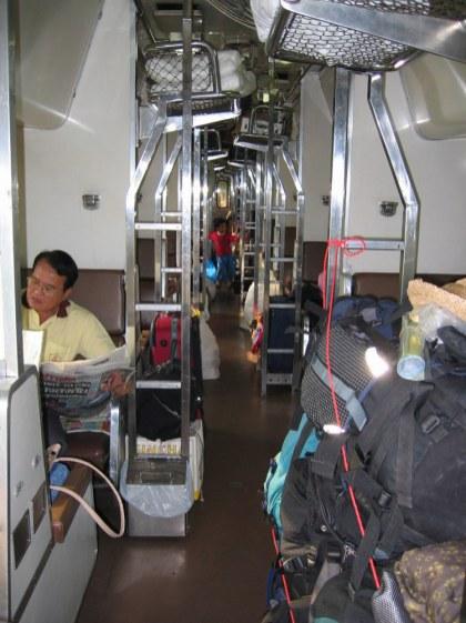Pociąg do Bangkoku.