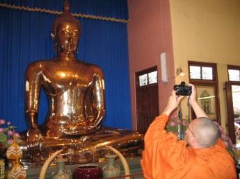 Złoty Budda w Wat Traimitt.
