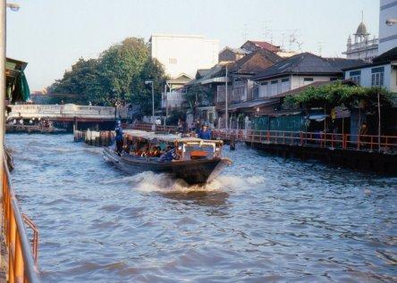 Expressboat - kanałami najszybciej w BKK.