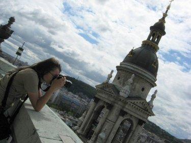 Na wieży Bazyliki.