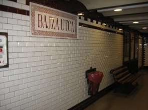 Najstarsza linia metra w Budapeszcie i w Europie.