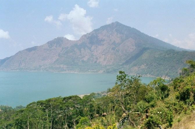 Fragment kaldery Gunung Batur.
