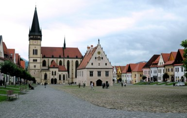 Innego deszczowego dnia: póki pogoda taka se, a Słowacja właśnie otworzyła granicę dla Polaków, to na jeden dzień przebijamy się do Bardejova.