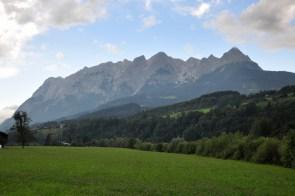 Tennengebirge w całej okazałości.