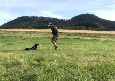 Psu tu się szczególnie podobało. Obaj panowie dostawali tu głupawki. A na pewno jeden :)