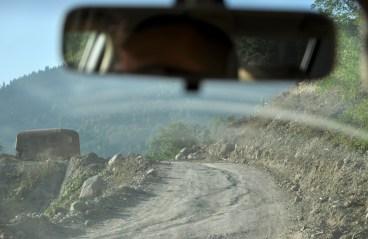 No właśnie dlatego... Okręg Batumi szybko się skończył, asfalt też.