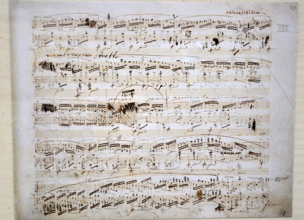 Skomponował na przykład to. 24 preludia powstały na Majorce.