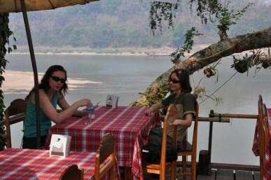 Fresh air at the Mekong bank.