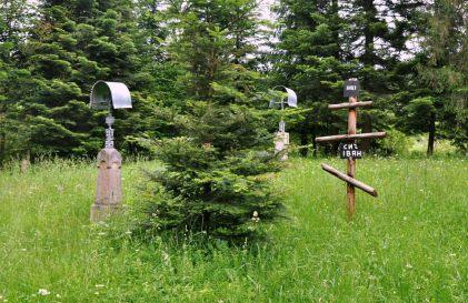 Cerkiew rozebrano, pozostał jedynie niewielki cmentarz.